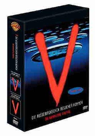 V - Die außerirdischen Besucher kommen 1+2 (Box Set, 3 DVDs)