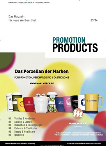 Promotion Products [Jahresabo]