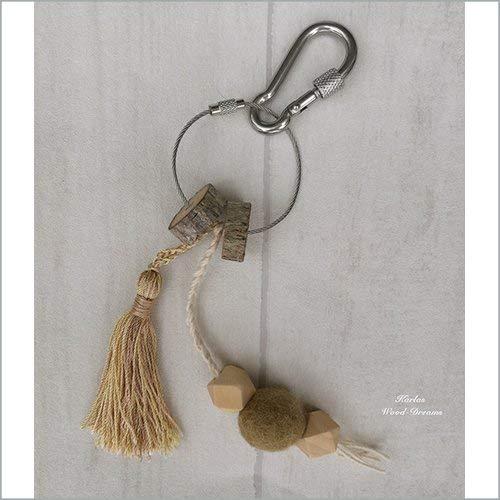 Schlüsselanhänger, oliv, handmade, Promotion